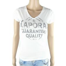 Tee shirt Kaporal Femme manches courtes PALME Blanc