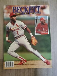 Beckett Baseball Card Monthly November 1996 Issue #140 - Ozzie Smith