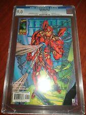 Iron Man v2#1 CGC 9.0 VF/NM Origin and 1st app of HEROES REBORN Robert Downey Jr