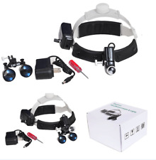 surgical lights with loupes for dental and  ophthalmology surgery etc