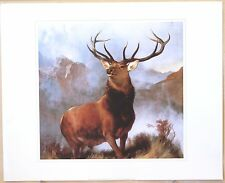 Monarch of the Glen - Sir Edwin Lanseer - 600x483 mm - Genuine Litho Print