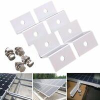 4STK Solarmodul Solarpanel Edelstahlwinkel Ecke Montage Z- Winke Montageset