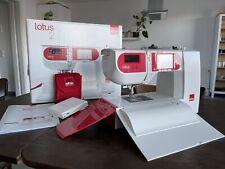 Elna Lotus 2 - Elektrische Nähmaschine - Kompakte freiarm Computernähmaschine