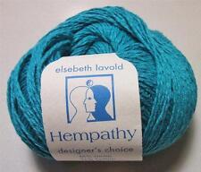 Hempathy 67 Lot 67 Dark Turquoise Elsebeth Lavold Hemp Cotton Modal Yarn 50 gram