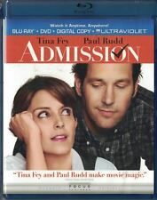 Admission Blu-ray/DVD, 2013, 2-Disc Set Tiny Fey Paul Rudd New Sealed