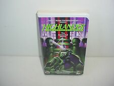 Highlander The Animated Series The Adventure Begins VHS Video Tape Movie