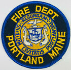 Portland Fire Department Maine ME Patch (F6)