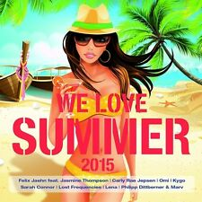 WE LOVE SUMMER 2015 - CALVIN HARRIS/MAROON 5/AVICII/DEICHKIND/+  2 CD NEU