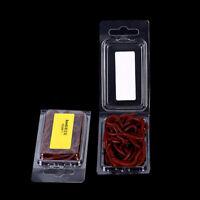 20Pcs Earthworm Red Fishing Worms Artificial Fishing Worms Lures Fishing Tac tx