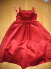 David's Bridal Red Party/Holiday Dress - Size 4 - VGUC