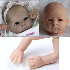 Newborn Doll Kit 22'' Reborn Dolls Kits Supplies Soft Vinyl Head +3/4 Limbs Mold