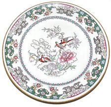 Antique Minton C150 Luncheon Plate 1864 Mark Birds Flowers