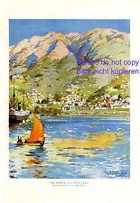 Im Hafen von Funchal XL Kunstdruck 1925 Max Römer * Hamburg † Madeira Atlantik