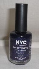 NYC New York Color Long Wearing Nail Polish Enamel Pack of 2 Choose Your Shade