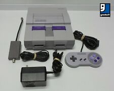 Super Nintendo Entertainment System Sns-001 Console with Controller and Cables