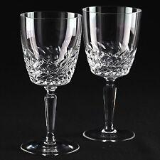 2 Vintage Weingläser Samo Spiegelau Kristall Gläser Schliff K72