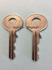 Mcgunn Diplomat Sun Bumil Wilson Saga Safe Key Cut to Your Code 3201-3300 2-Keys