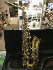 Yamaha YAS-23 Alto Saxophone brass finish nice shape with case.