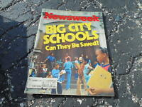 SEPT 12 1977 NEWSWEEK magazine BIG CITY SCHOOLS
