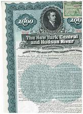 New York Central and Hudson River RR Co., 1897, stahlblau