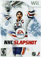 NHL Slapshot - Nintendo  Wii Game