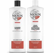 Nioxin System 4 Cleanser & Conditioner Duo 1L