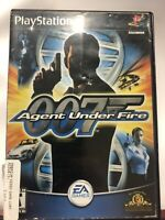 James Bond 007 in Agent Under Fire Sony PlayStation 2 PS2 No Manual