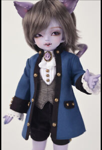 BJD 1/6 Cheshire cat fantasy body mouth opened free eyes+face make up