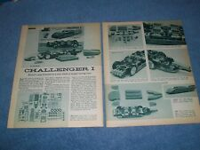 1960 Revell 1:25th Scale Challenger I Model Kit Info Article Mickey Thompson
