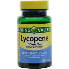 Spring Valley Lycopene Dietary Supplement Softgels 10 mg 60 ct