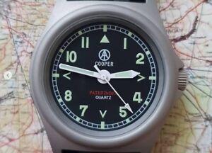 Cooper Pathfinder SM8018 Field Military army Watch - Matt Steel finish
