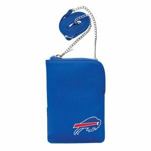 Buffalo Bills Pebble Smart Purse, Organizer NFL Licensed Crossbody