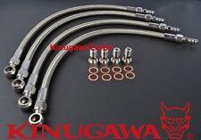 Kinugawa Turbo Water Line Kit for the Nissan Z32 300ZX Garrett GT28R GT30R 6AN