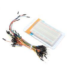 400 Kontakte Steckboard Steckbrett Breadboard + Jumper Wire Kabel Set