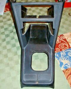 Fiat X1/9 center console
