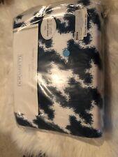 DORMISETTE GERMAN LUXURY Cotton FLANNEL twin 2pc DUVET COVER SET Monacoblue