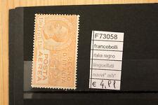 FRANCOBOLLI ITALIA REGNO LINGUELLATI NUOVI* MH* (F73058)