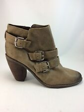 Dolce Vita Women's Brown Suede Ankle Boots Size 8 M