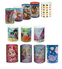 Kids Money Boxes Boys Girls PawPatrol,Avenger,Disney Princes Money Tin Xmas Gift