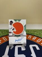 2021 Topps Definitive YORDAN ALVAREZ Houston Astro's Patch ON CARD AUTO 13/25