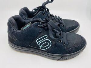 Five Ten Freerider Women's MTB Shoes - Sz 6.5 - Blk/Blu - Flats - Worn Twice!