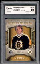 2006 Phil Kessel SP Game Used Gold rookie #ed to 100 Gem Mint 10
