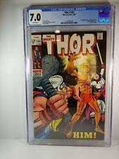 Thor 165: CGC 7.0, 1st Appearance of Him/ Adam Warlock (Marvel)