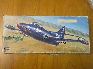1/72 MAQUETTE HASEGAWA GRUMMAN F9F-2 PANTHER US NAVY