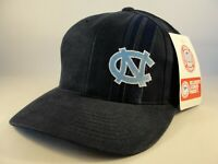 North Carolina UNC Tar Heels NCAA Vintage American Needle Snapback Hat Cap Navy
