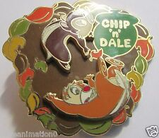 Disney M & P Chip and Dale Autumn Spinner Slider Japan Pin