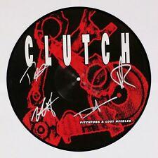 CLUTCH BAND SIGNED PITCHFORK NEEDLES RSD PIC DISC VINYL RECORD ALBUM W/COA
