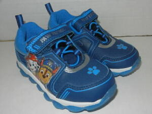 Nickelodeon Shoes Paw Patrol Boys Navy Boys Toddler Paw Patrol Lighted Runner Toddler Size 9.5 Regular