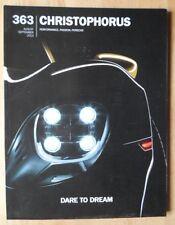 Porsche Christophorus 2013 despachada de fábrica Revista Inglesa Folleto-EDN 363