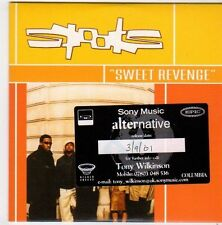 (FI654) Spooks, Sweet Revenge - 2001 DJ CD